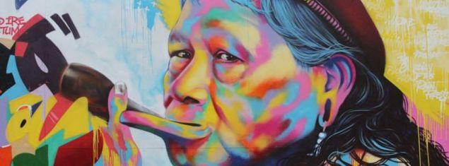 Foto de Itanor Junior tirada em 22/01/2013, na 2ª edição da Bienal Graffiti Fine Art em SP